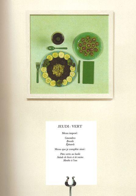 sophie calle partager un repas coloré en classe de fle le monde